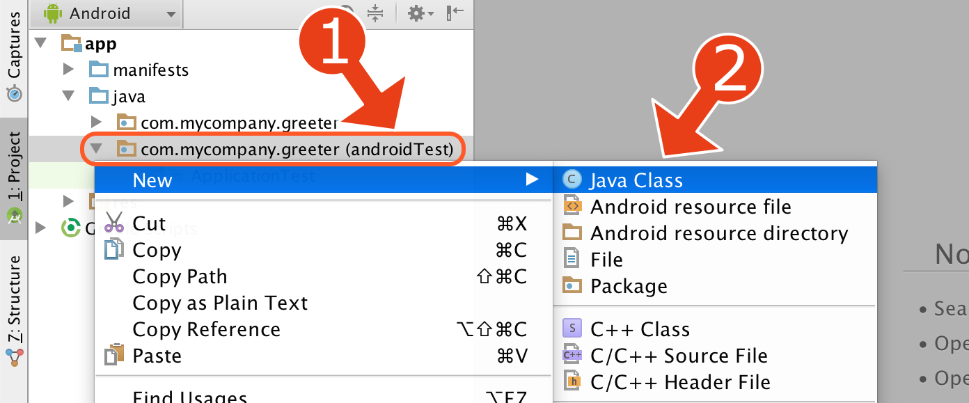 Testing activity in Android Studio  Part 2